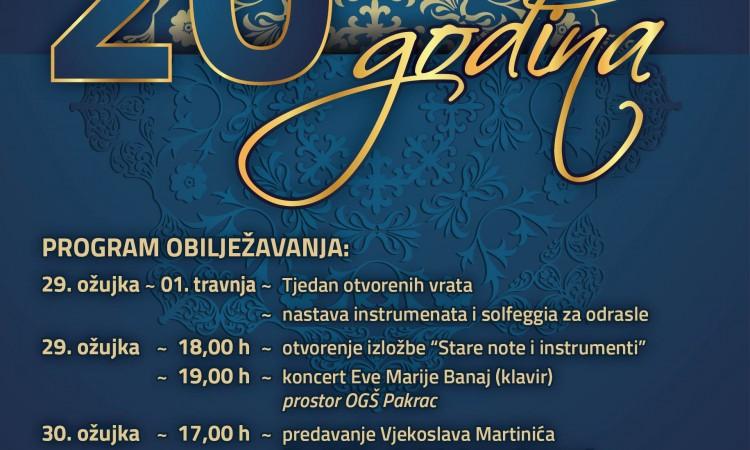 20 GODINA OGŠ PAKRAC   Tradicija i klasika u jednoj večeri