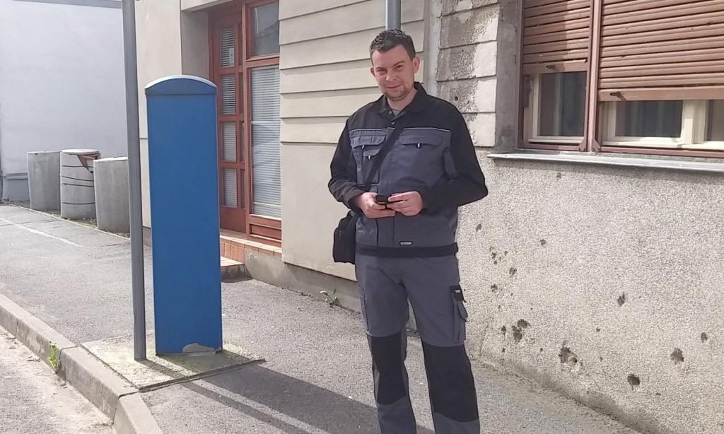 Franjo Eck, kontrolor naplate parkinga:   Šetnja gradom koja nas zna koštati