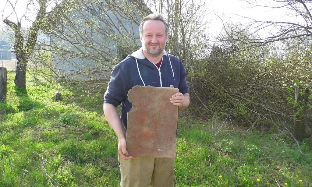 POVIJESNO DRUŠTVO PAKRAC – LIPIK:   U Brezinama nalazište antičke cigle