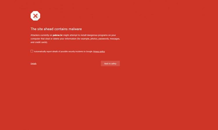 Službena gradska stranica nedostupna:   Nova stranica u izradi