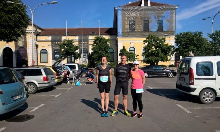 Naši sugrađani na polumaratonu u Banja Luci