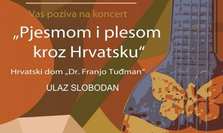 "Koncert Tamburaškog orkestra Pakrac:   ""Pjesmom i plesom kroz Hrvatsku"""