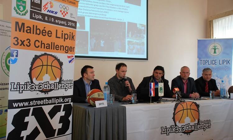 MALBEE LIPIK 3X3 CHALLENGER: Streetball ove godine na svjetskom nivou