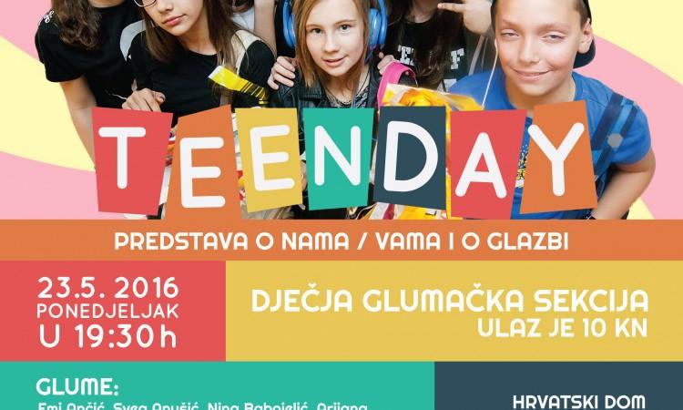 23. svibnja u Hrvatskom domu:   Nova kazališna predstava malih pakračkih glumaca