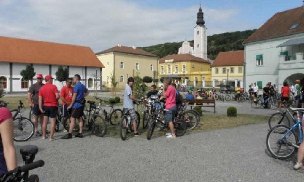 Zbog kiše: Odgođena biciklijada