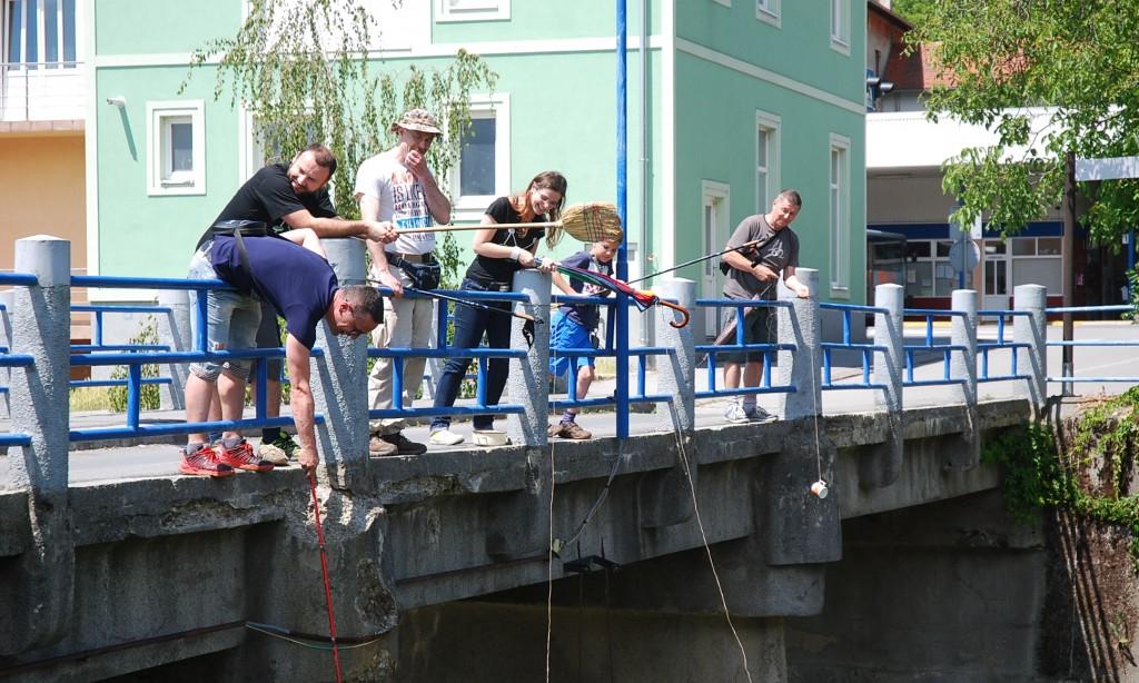 GEOCACHING Ponovo ribičija s pakračkog malog mosta
