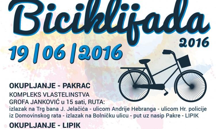 TZ PAKRACA I LIPIKA: Tradicionalna biciklijada starta 19. lipnja