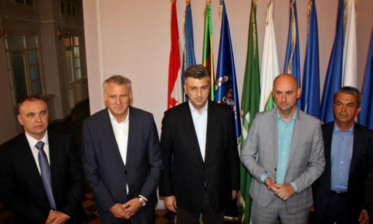 Našu županiju posjetili ministar Tolušić i eurozastupnik Plenković