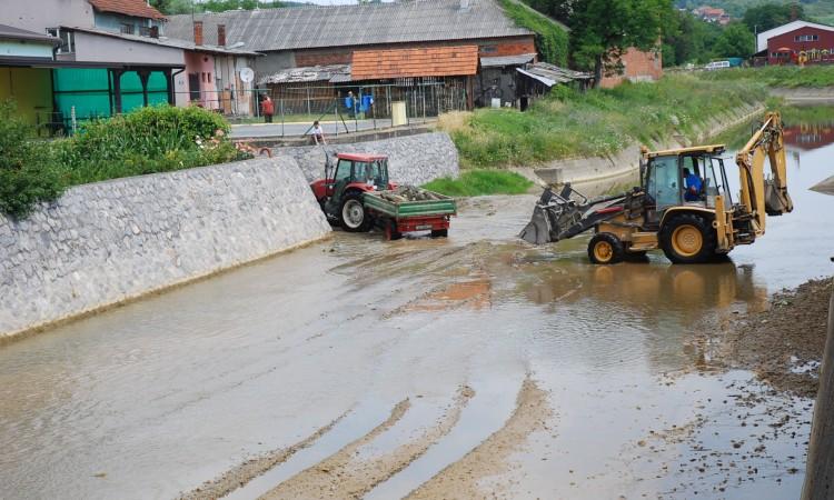 Hrvatske vode: Čiste Pakru u središtu grada