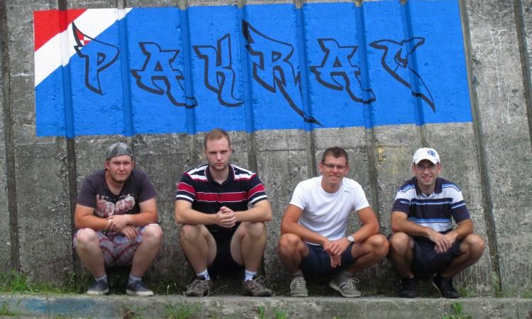 UDBDR Pakrac – Novi grafit na pakračkoj Petlji