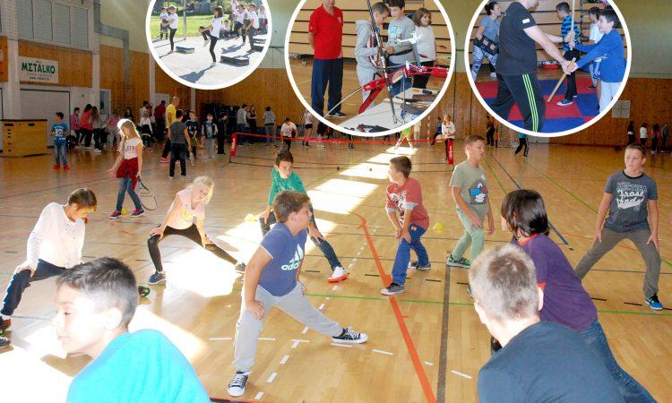 EUROPSKI ŠKOLSKI SPORTSKI DAN: Sportovi predstavljeni i ponuđeni djeci
