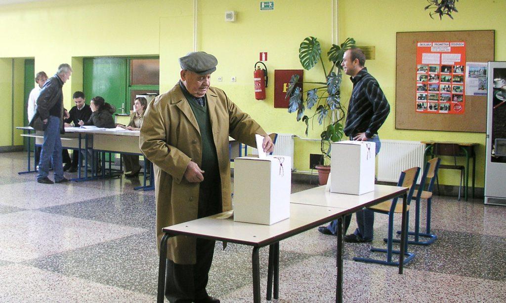 SABORSKI IZBORI: Ista izborna tehnika na istim biračkim mjestima