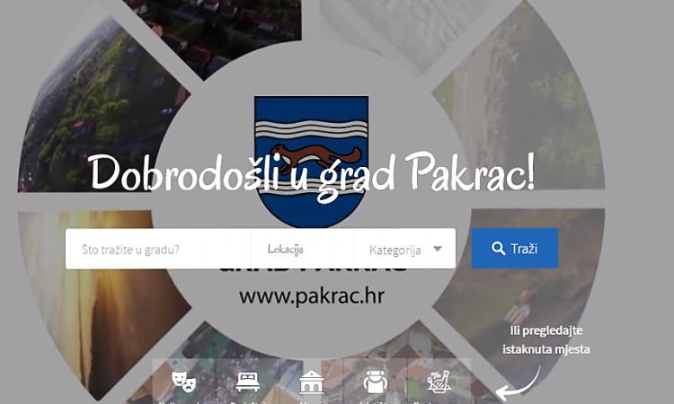 TZ-PAKRAC.HR Novi virtualni vodič kroz Pakrac i pakračku ponudu