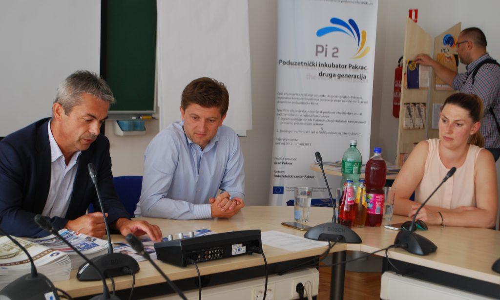 Ministar financija Zdravko Marić u Pakracu: Susret s pakračkim poduzetnicima