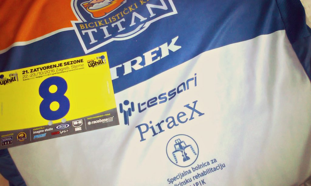 "BK ""TITAN"": Jeftinić šesti na utrci u Zagrebu"