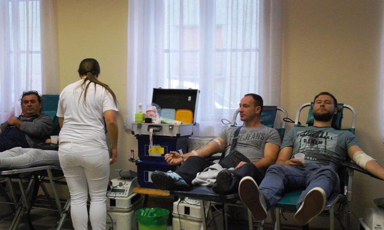 GD CRVENOG KRIŽA PAKRAC: Prikupljeno 127 doza krvi