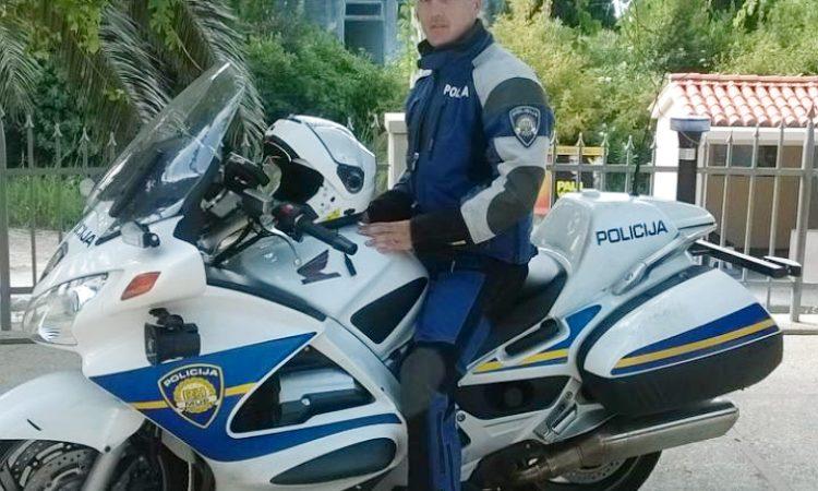 NATJECANJE PROMETNIH POLICAJACA  Ivko Bosanac među najboljima u državi!