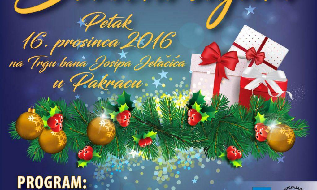 U PETAK 16. PROSINCA: Dođite na Božićni sajam!