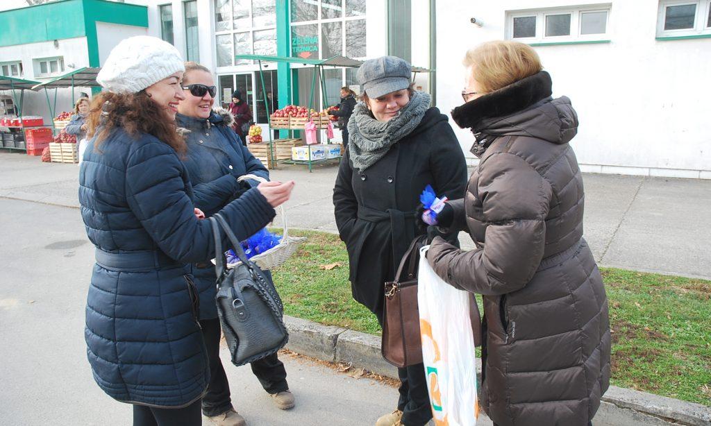 """ČLANICE """"KATARINE ZRINSKI"""": Božićna pšenica za sugrađane"""
