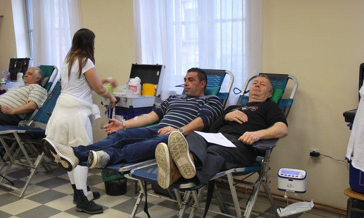 GD HCK PAKRAC: Prikupljeno 130 doza krvi