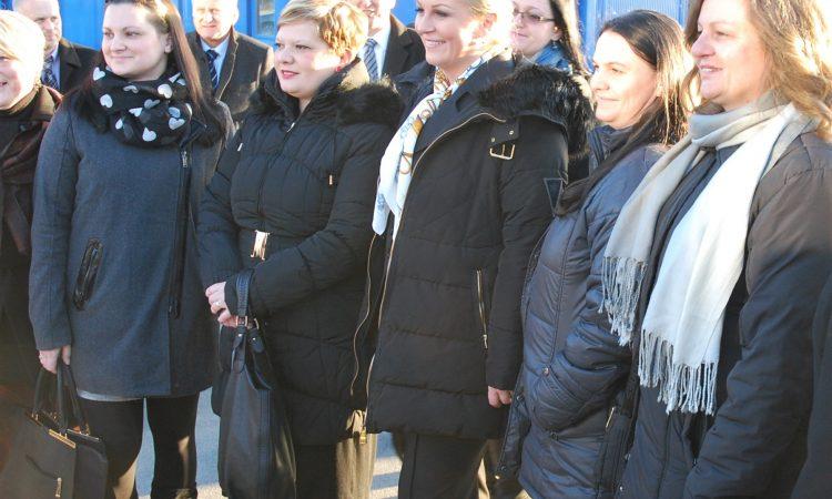 Predsjednica Republike Hrvatske Kolinda Grabar Kitarović 1. ožujka u Pakracu