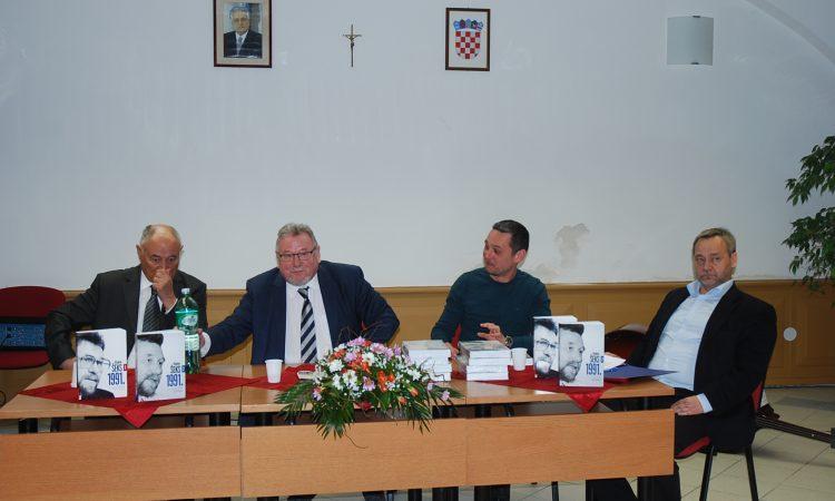 PROMOCIJA KNJIGE VLADIMIRA ŠEKSA Priča onajsudbonosnijoj hrvatskoj godini