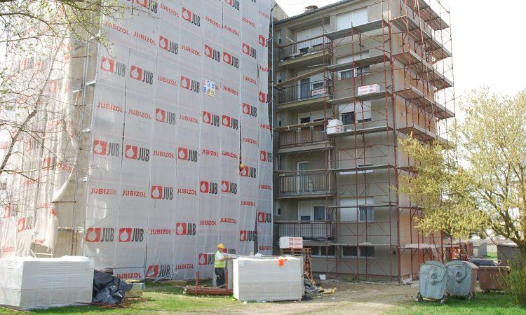 ENERGETSKA OBNOVA STAMBENIH ZGRADA Dovršene četiri zgrade