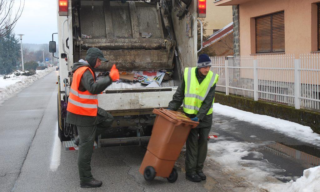 ODVOŽNJA OTPADA U veljači pet tona manje smeća