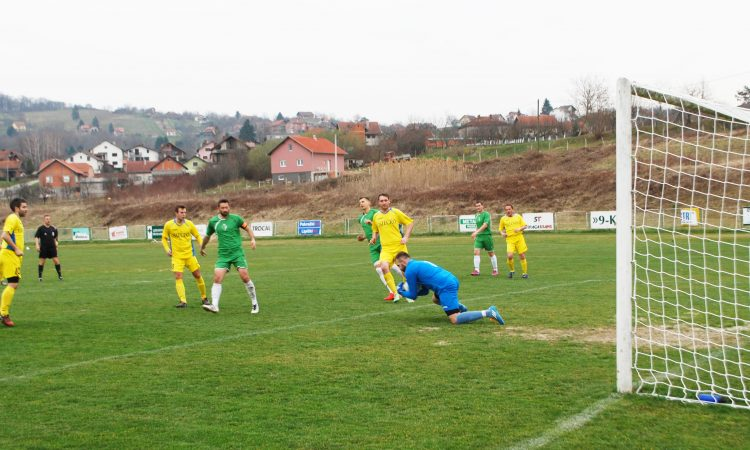 NOGOMET MŽNL SiB Hajduk poražen u Jelisavcu