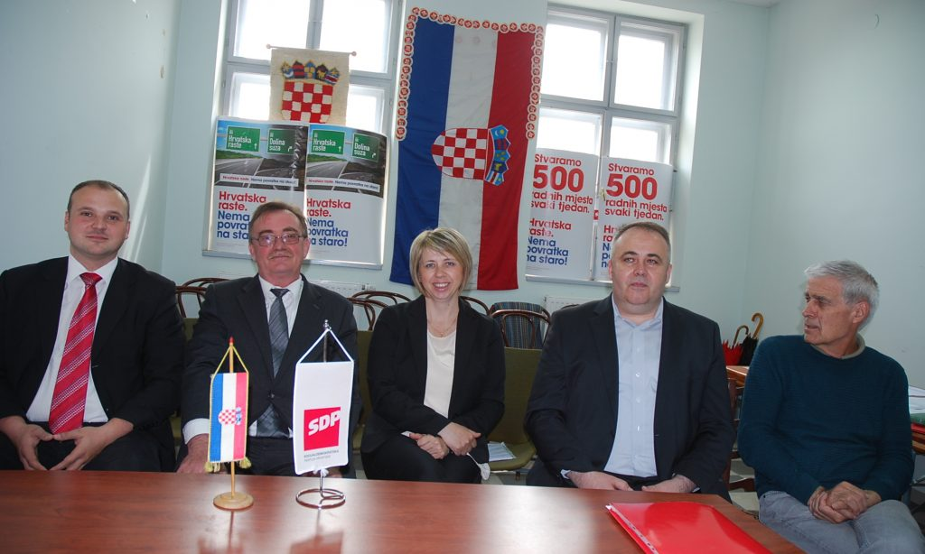 TISKOVNA KONFERENCIJA PAKRAČKOG SDP-A Ljerka Švajghart kandidat za dožupanicu