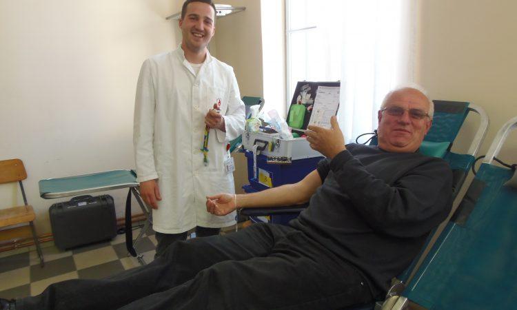 GD HCK PAKRAC Prikupljeno 111 doza krvi
