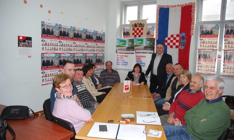 TISKOVNA SDP Zoran Krejči za gradonačelnika, a Dragan Marin za zamjenika