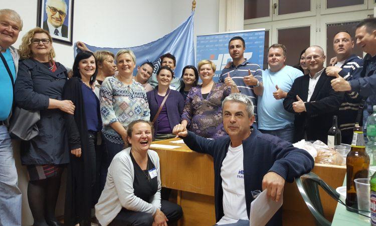 GRADSKO IZBORNO POVJERENSTVO  Službeni rezultati potvrdili pobjedu A. Blažević i HDZ-a