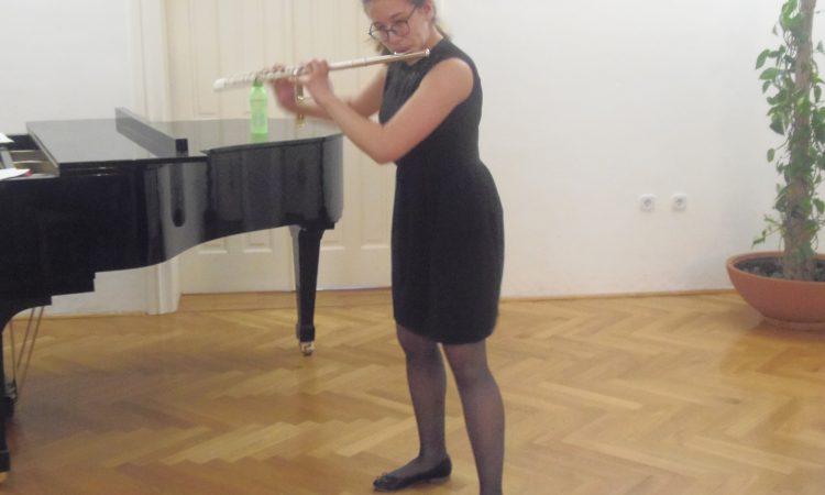 OSNOVNA GLAZBENA ŠKOLA Koncert flautistice Franziske Anne Fundelić
