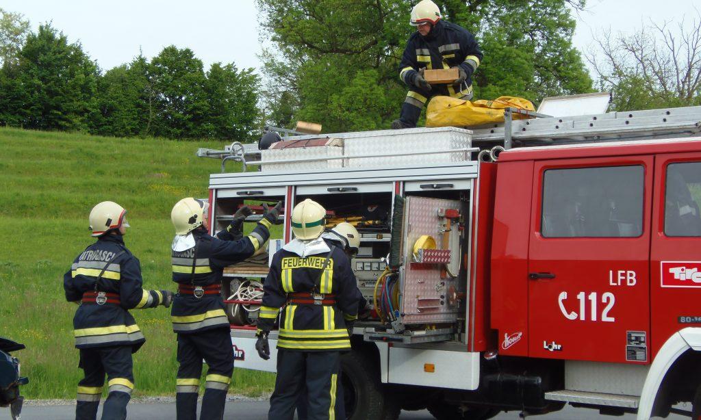 20. združena vatrogasna vježba VZ područja Pakrac-Lipik