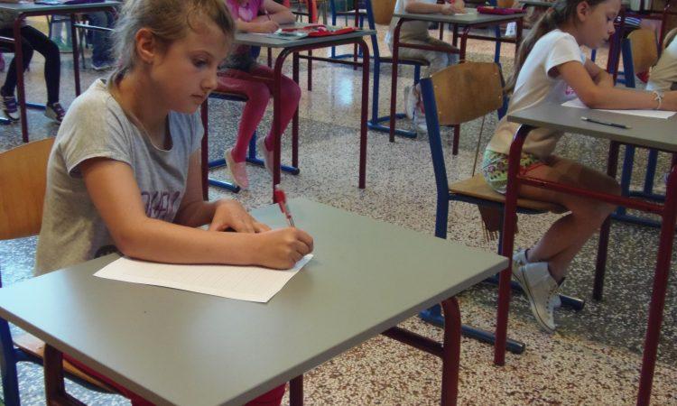 Održana prva Smotra lijepog pisanja u OŠ braće Radića Pakrac