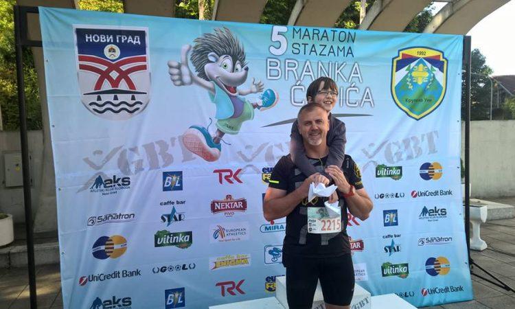 MARATON: Delišimunović trčao u Bosni, slijedi noćni maraton u Novom Sadu
