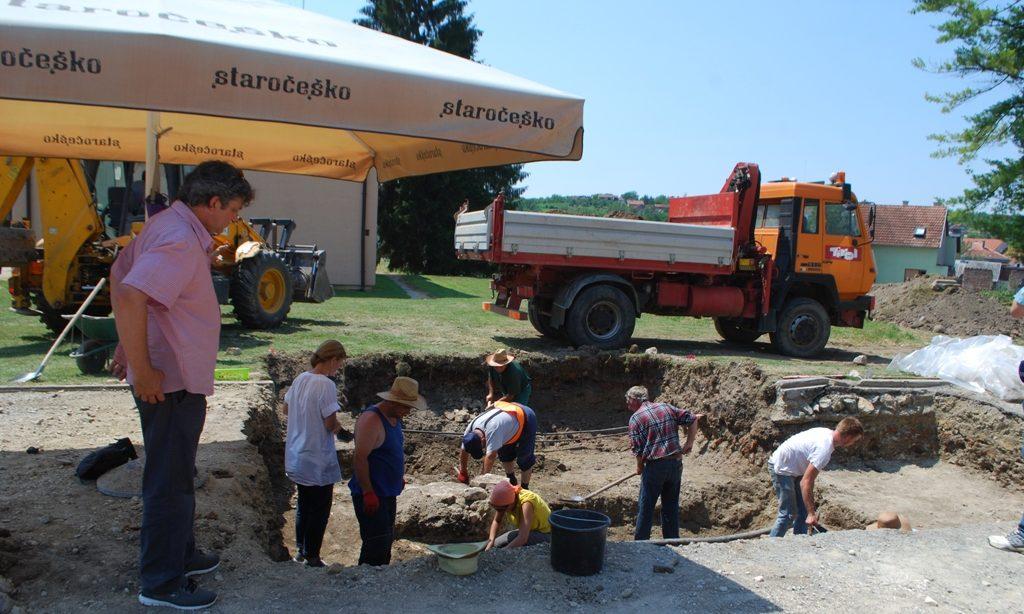 ARHEOLOŠKA ISKAPANJA  Otkriveni prvi ostaci starog grada