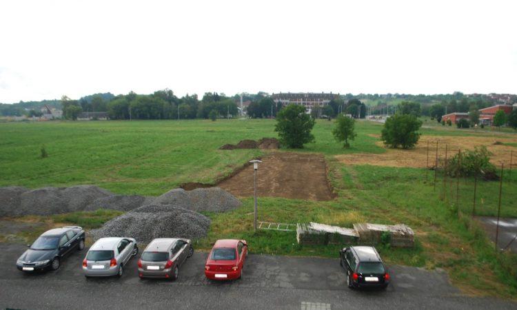 GRADSKI STADION Počela izgradnja teniskih igrališta