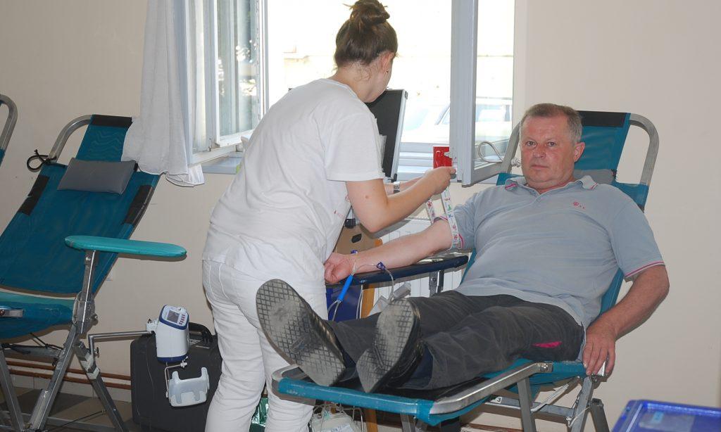 GDCK PAKRAC Prikupljeno 113 doza krvi