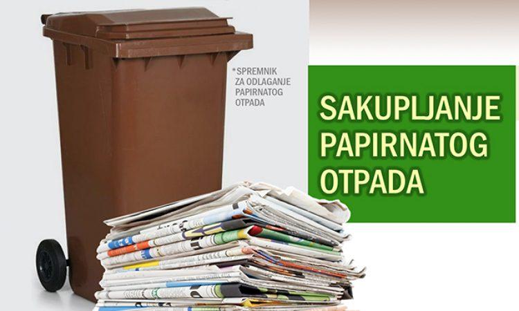 KOMUNALAC Sakupljanje i odvoz papirnatog otpada