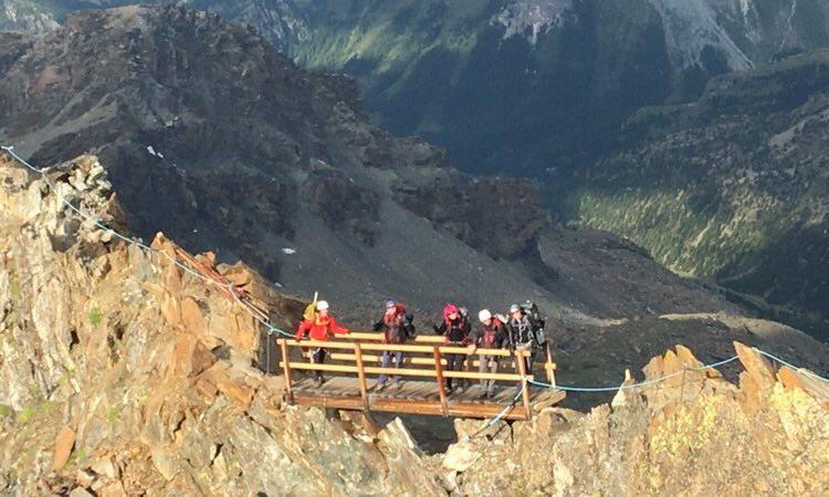 VISOKOGORSKA SEKCIJA PD PSUNJ I PD LIPA Loši vremenski uvjeti spriječili osvajanje Mont Blanca
