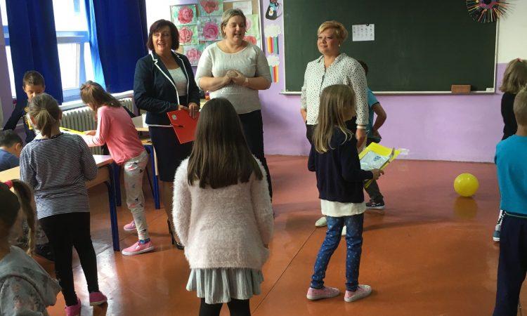 Gradonačelnica Blažević i ravnateljica Delač obišle područne škole