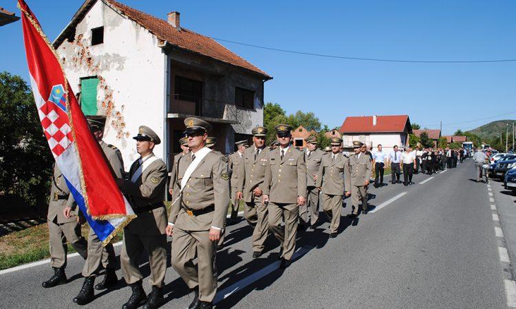BLAGDAN MALE GOSPE U KUSONJAMA  U petak 8. rujna odavanje počasti poginulim bjelovarskim vitezovima