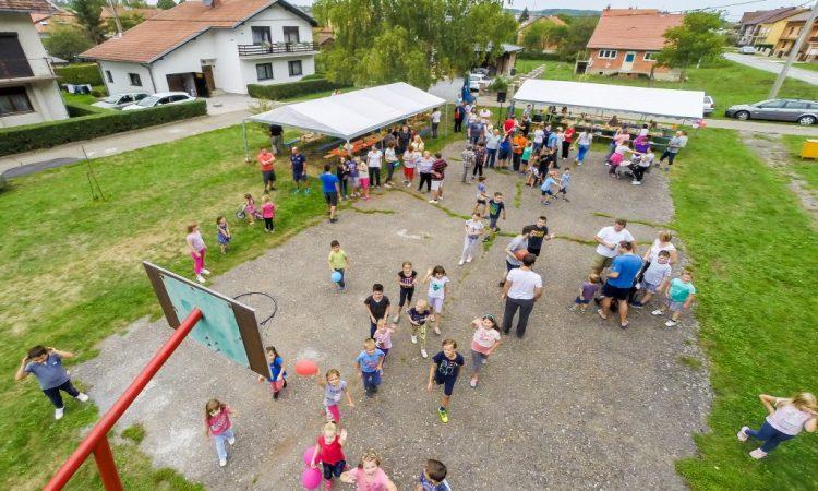 Dječji dan na obnovljenom igralištu pod Kalvarijom