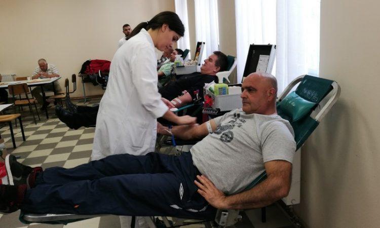 HCK PAKRAC Donirano 112 doza krvi