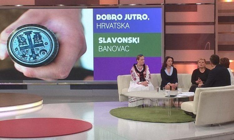 GRADONAČELNICA I SURADNICI Pakračani gostovali u Dobro jutro Hrvatska!
