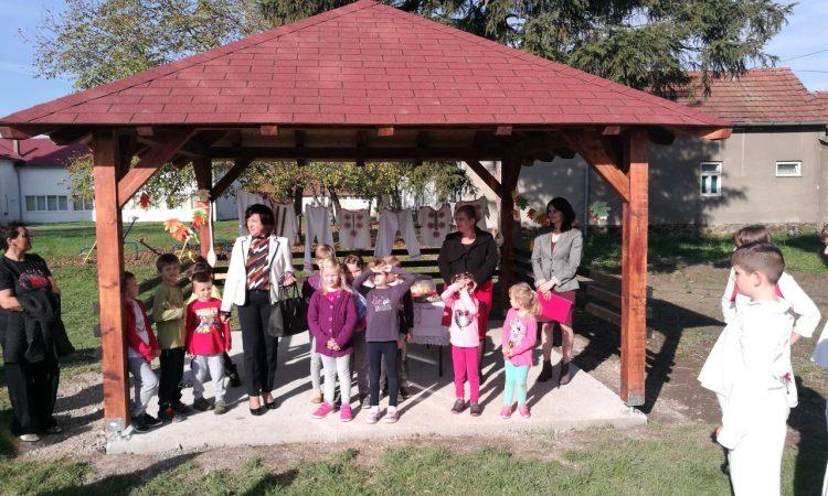 PODRUČNA ŠKOLA BADLJEVINA Predstavljena Zelena škola – učionica na otvorenom
