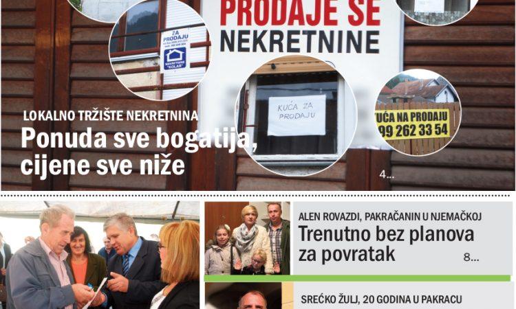 """DANAS U PRODAJI Novi broj """"Pakračkog lista"""""""