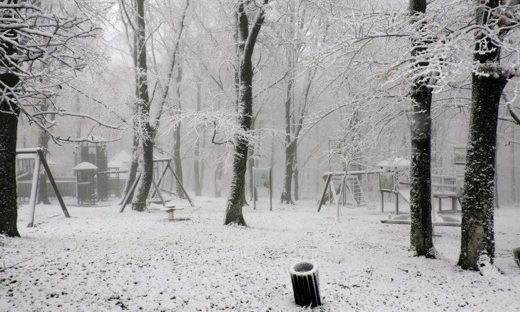 Prvi ovogodišnji snijeg na Omanovcu!